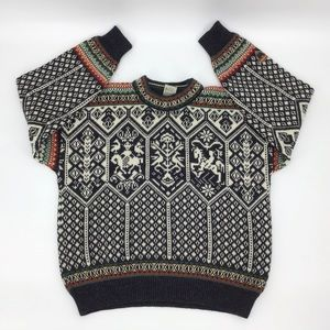 Dale of Norway Vintage Lillehammer Ski Sweater, XL